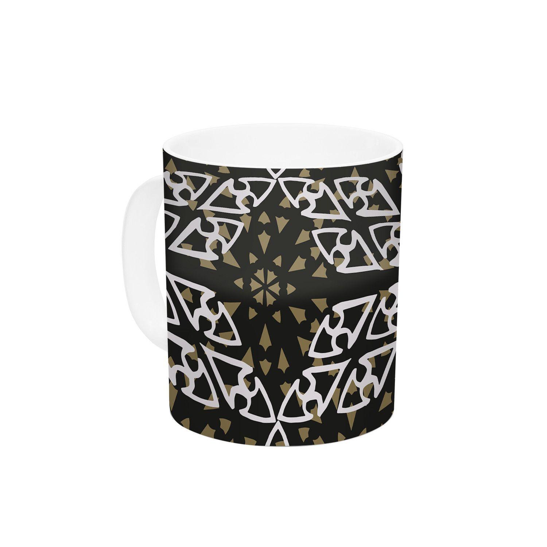 Ethnical Snowflakes by Miranda Mol 11 oz. Ceramic Coffee Mug