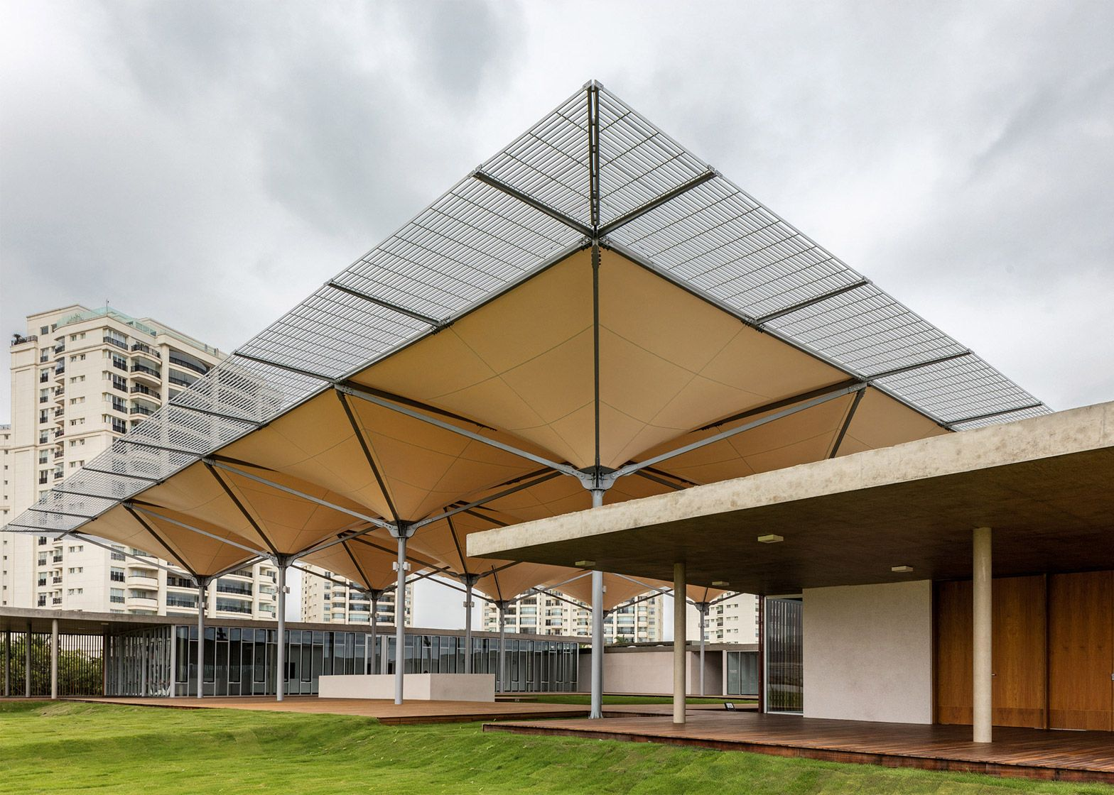 rio 2016 olympic golf course includes rain-collecting canopy