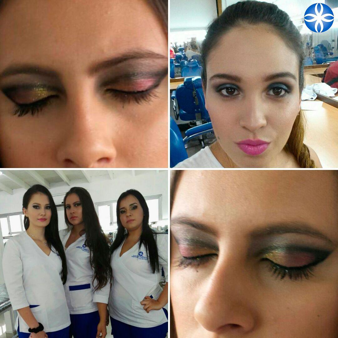 En #lacole te enseñamos los detalles mínimos para que tengas un #maquillajeperfecto #aprendeconlosmejores #maquillajeprofesional