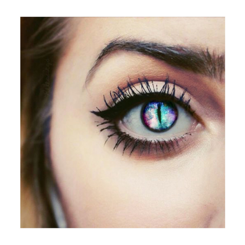 My edit x eye, pretty, my edit galaxy girl Cat eye