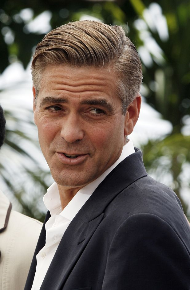 George Clooney Pictures Mens Hairstyles George Clooney Hair