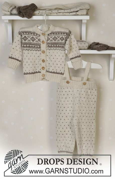Photo of Winter snuggles / DROPS baby 13-5 – free knitting patterns by DROPS design