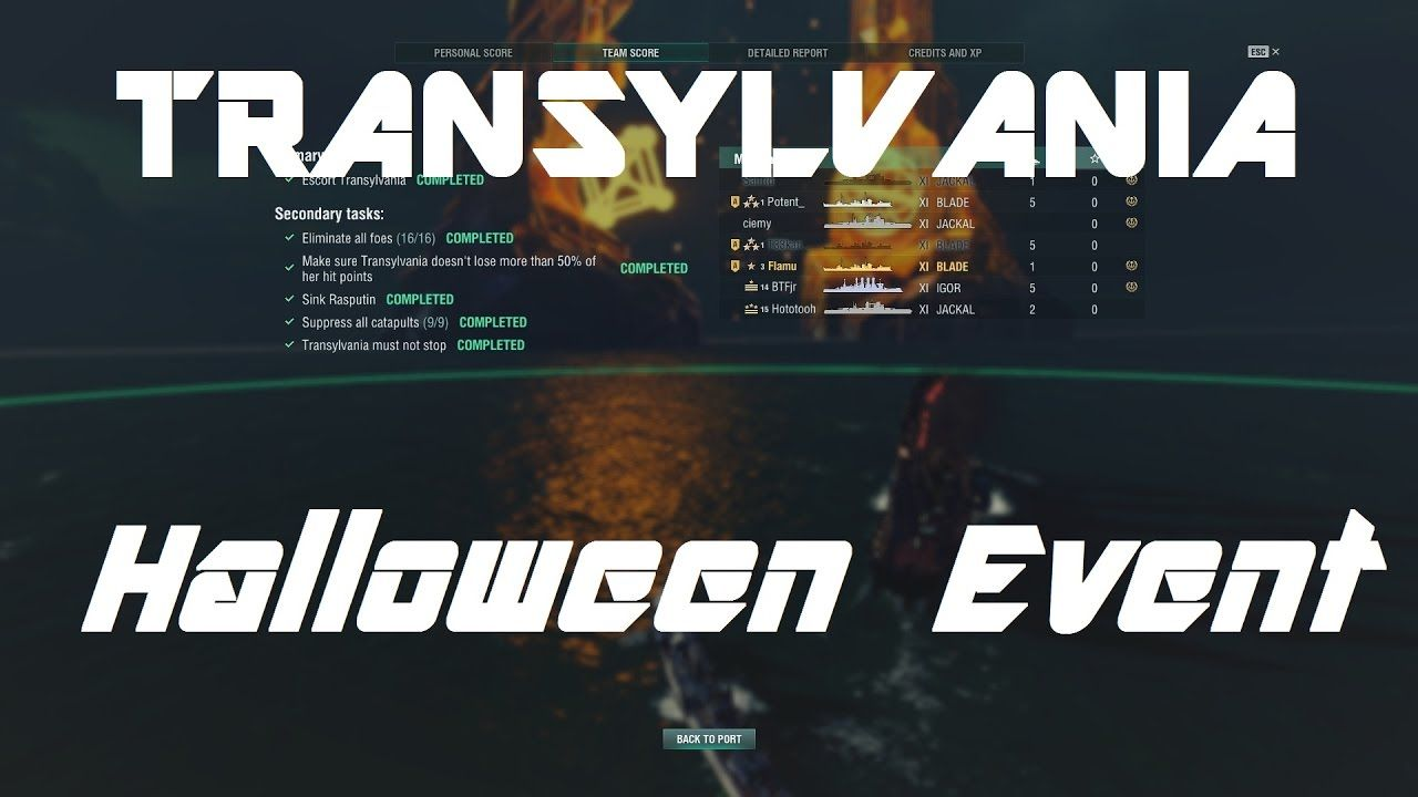 Saving Transylvania - How To Fully Complete The Halloween Event