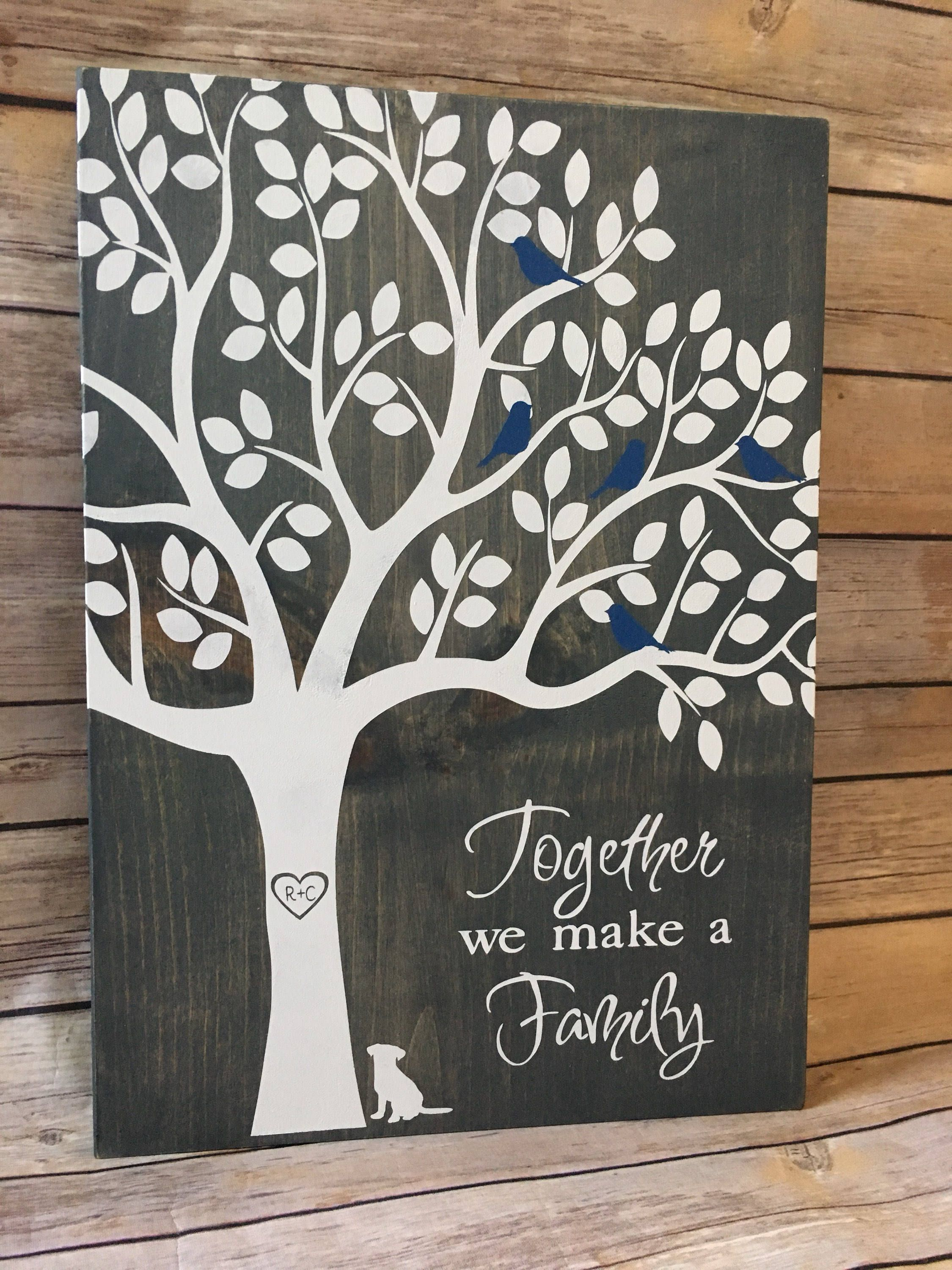 Personalized Solid Oak Clock Wedding Gift For Second Marriage