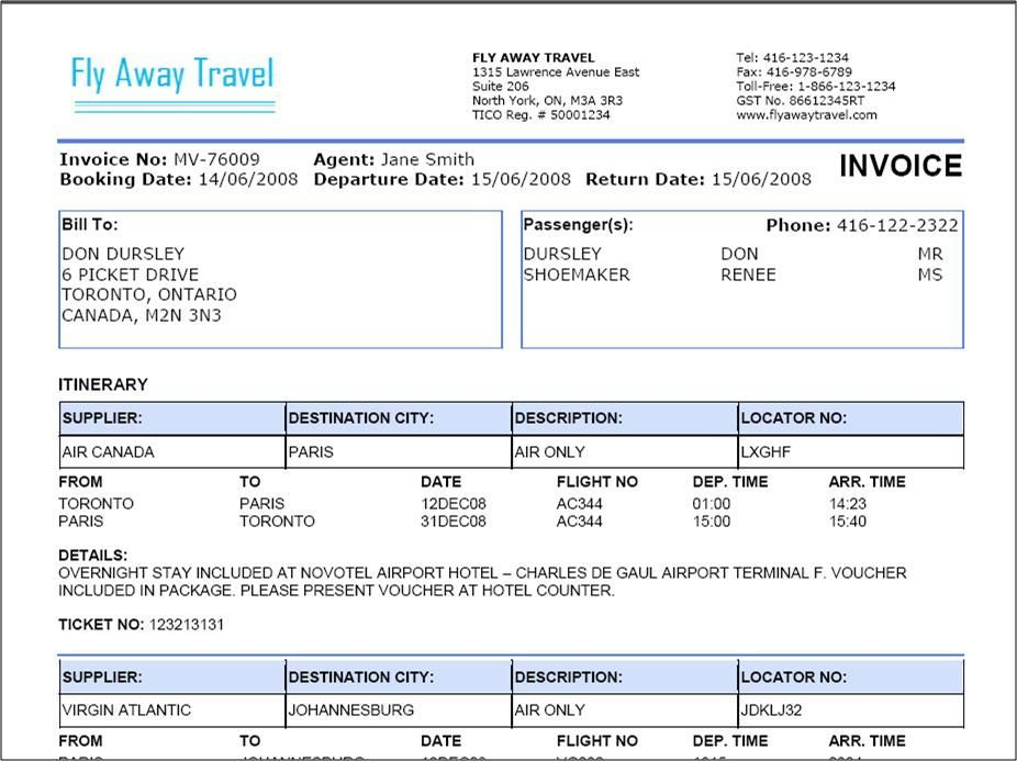 Travel Agency Invoice Format Excel Travel Agents Pinterest - sample advertising contract template