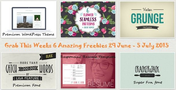 Download this Weeks Freebies #Free #WordPress #Resume #Template - wordpress resume template