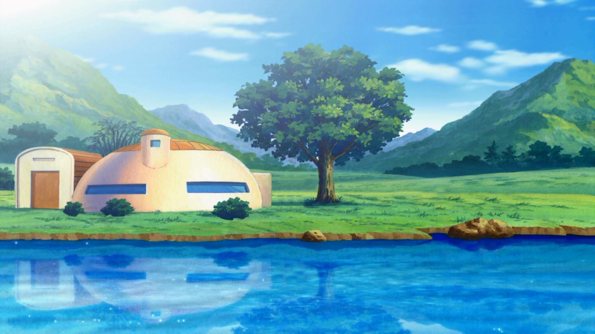 Anime Dragon Ball Z Goku Wallpaper Dragon Ball Scenery