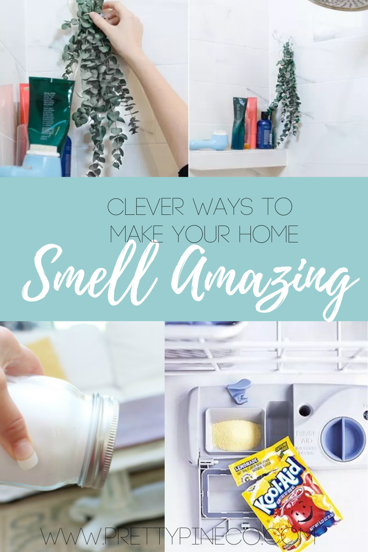 7 Clever Ways To Make Your Home Smell Amazing House Smells Smells Amazing Cleaning Hacks