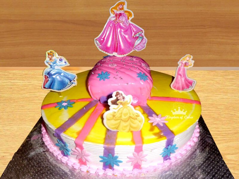 Barbie Doll Princess Cake For Girls Online Delivery In Noida