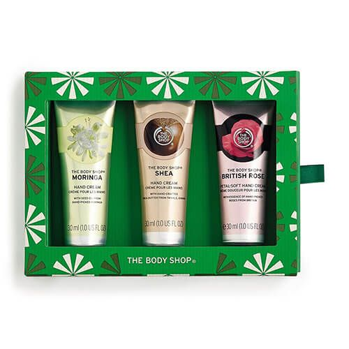 The Body Shop Handfuls of Happiness Hand Cream Trio