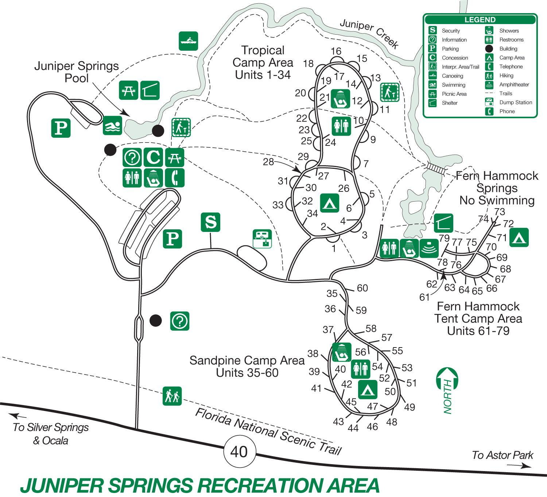 Juniper Springs Map Sixty Before Sixty Juniper Springs