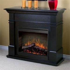dimplex kenton espresso electric fireplace mantel package smp130e - Electric Fireplace With Mantel