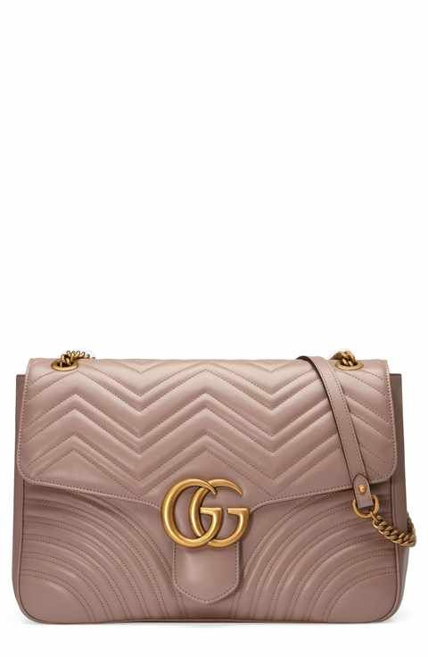 be3158620f8340 Gucci GG Large Marmont 2.0 Matelassé Leather Shoulder Bag | Designer ...