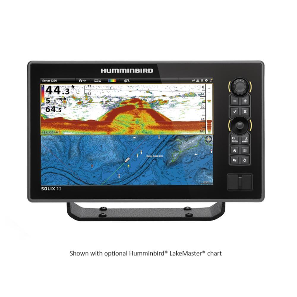 Humminbird SOLIX 10 CHIRP GPS Combo [4104701] Fish