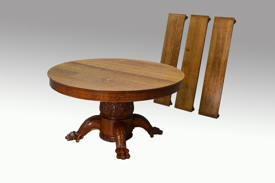 Maine Antique Furniture - 19500 Monumental Antique Oak Carved Banquet  Dining Table, $3,250.00 (http - SOLD Monumental Antique Oak Carved Banquet Dining Table **REDUCED