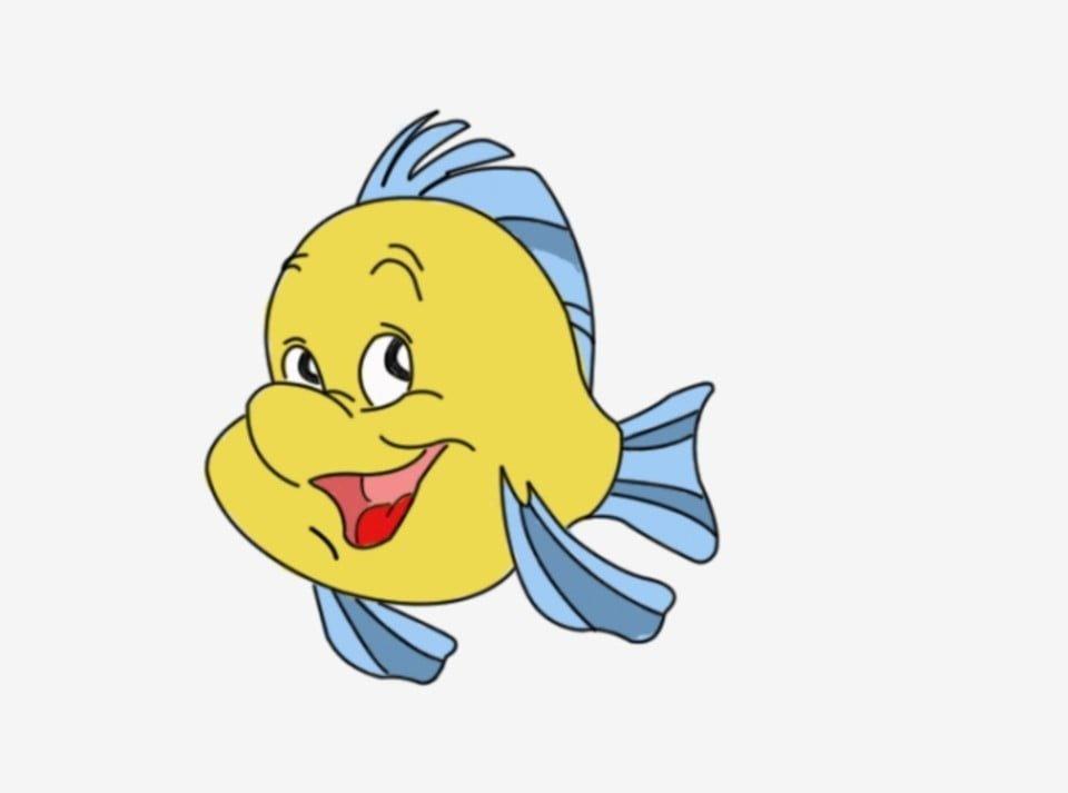 ปลาการ ต น การ ต น น าร ก วาดด วยม อ ไลน ปลา มหาสม ทรภาพ Png และ Psd สำหร บดาวน โหลดฟร การ ต น น าร ก ปลา