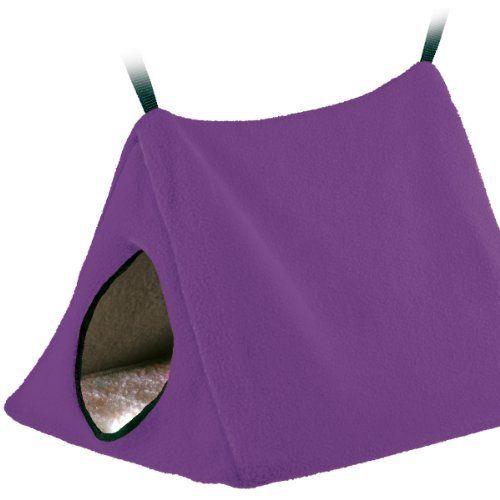 Fleece hanging tent bed