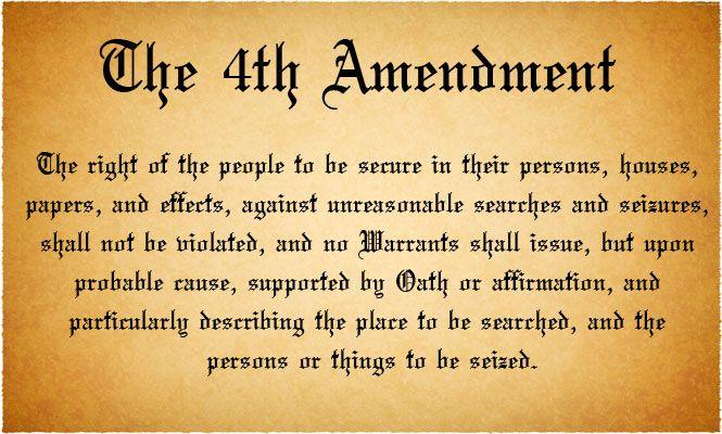 4th amendment issues