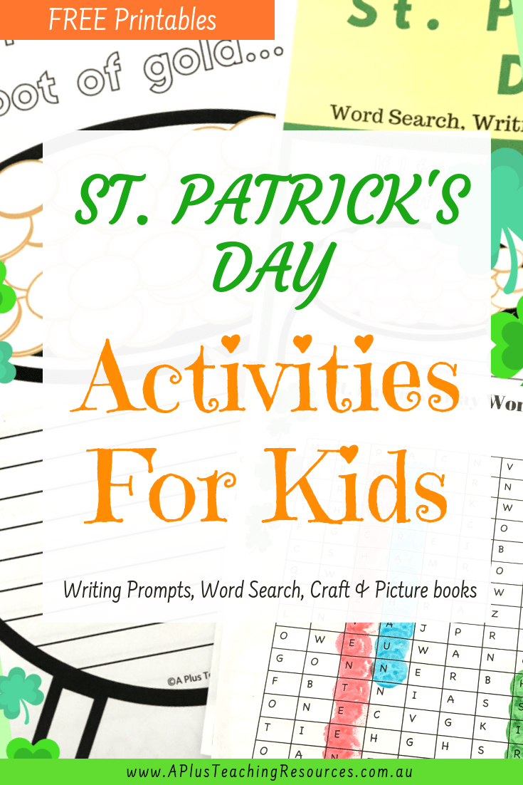 St Patrick S Day Printables For Free Writing Prompts For Kids St Patrick Day Activities Kids Writing [ 1102 x 735 Pixel ]