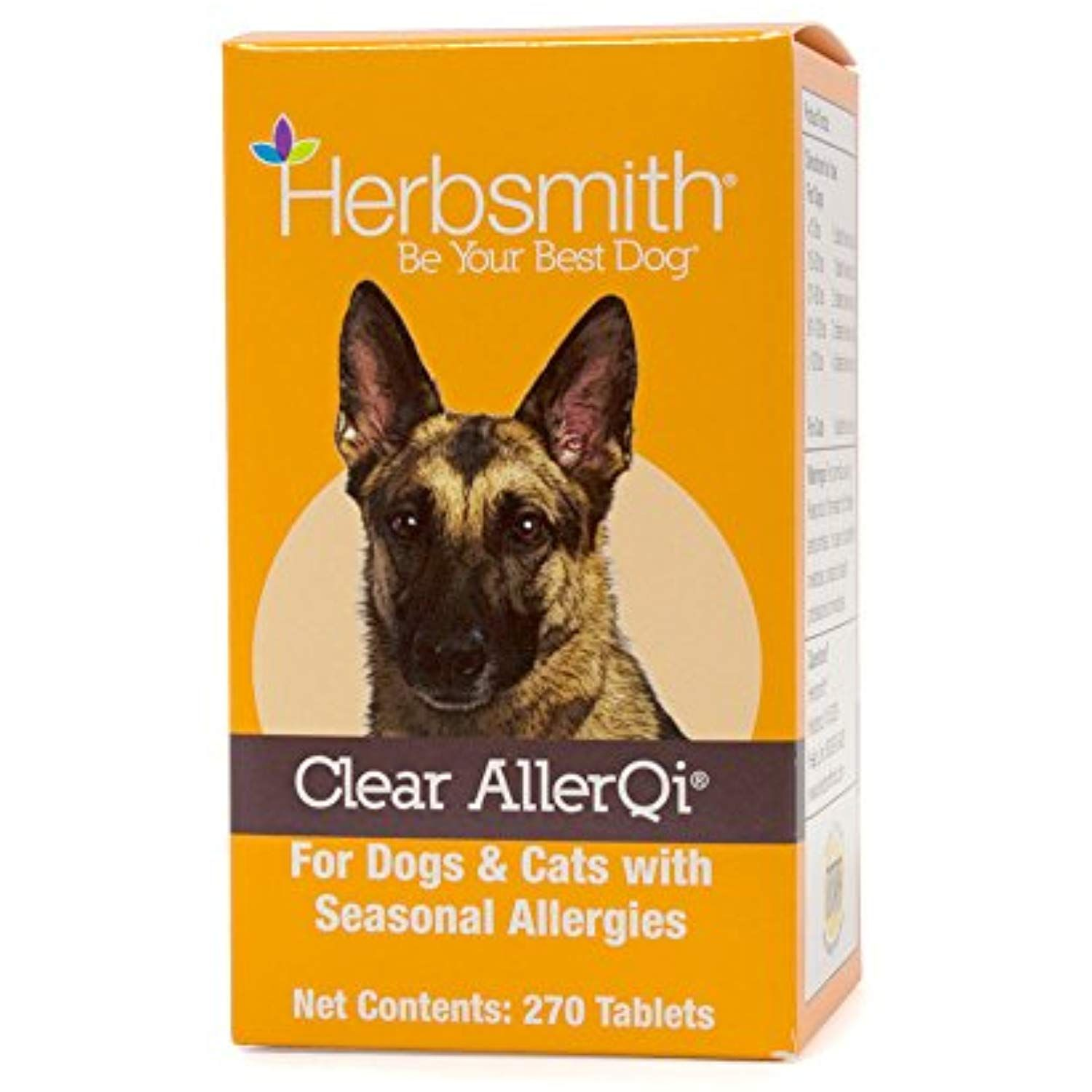 Herbsmith Clear AllerQi – Allergy Aid for Cats and Dogs