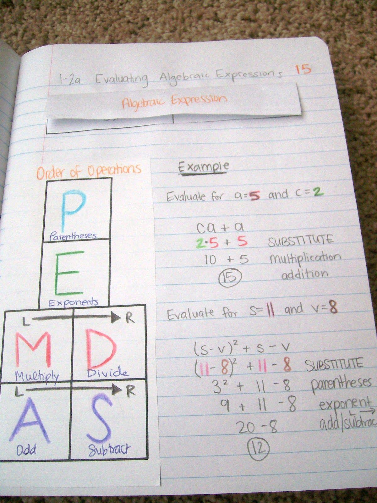 Math Love Great Blog I Want Cool Notebooks Middle School Math Education Math Teaching Math