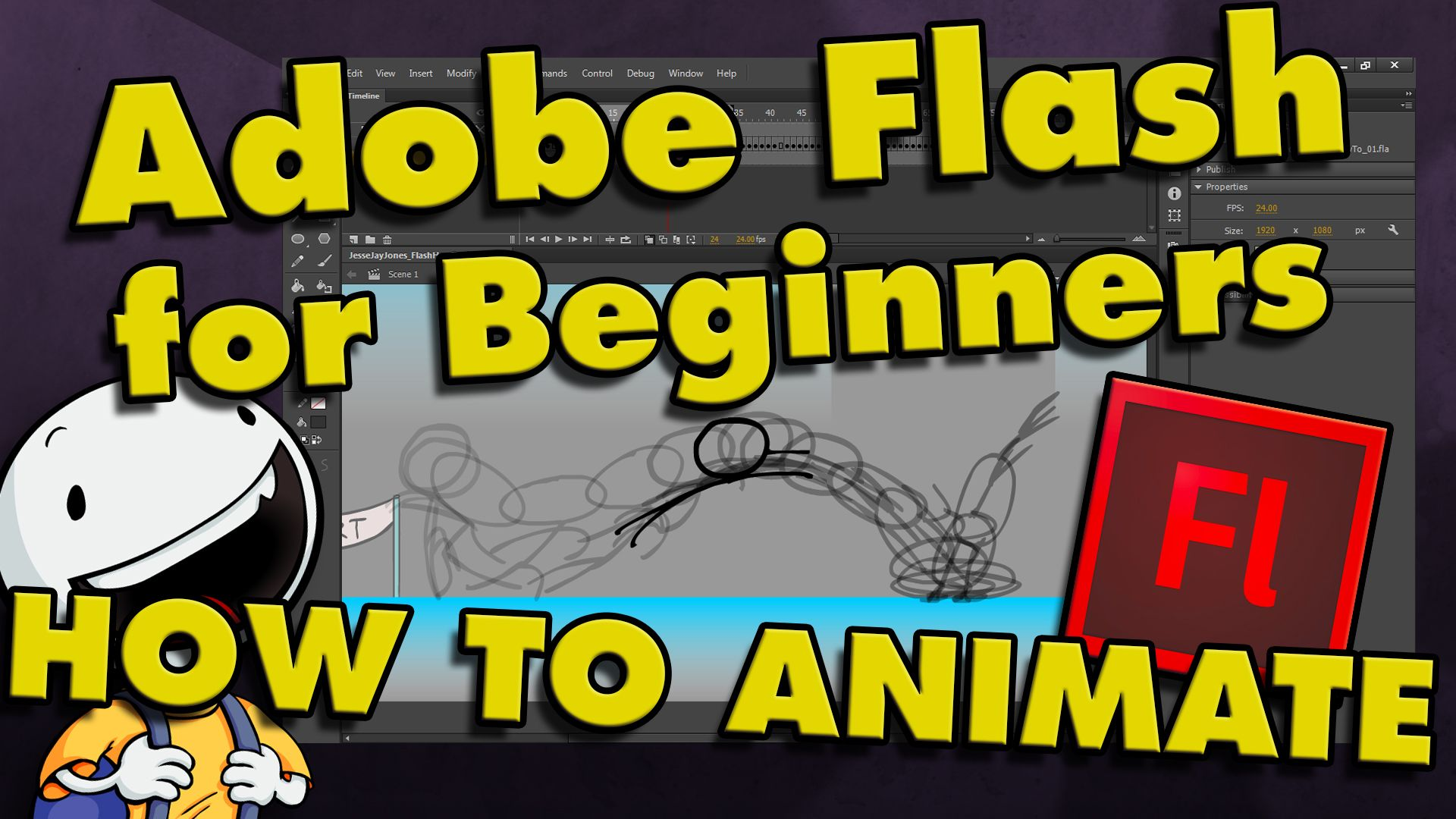 How To Animate your own Cartoons in Adobe Flash CC & CS6