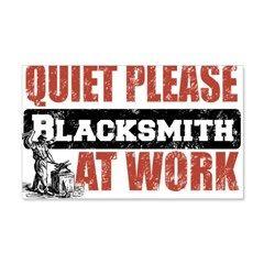 Blacksmith at work Wall Decal