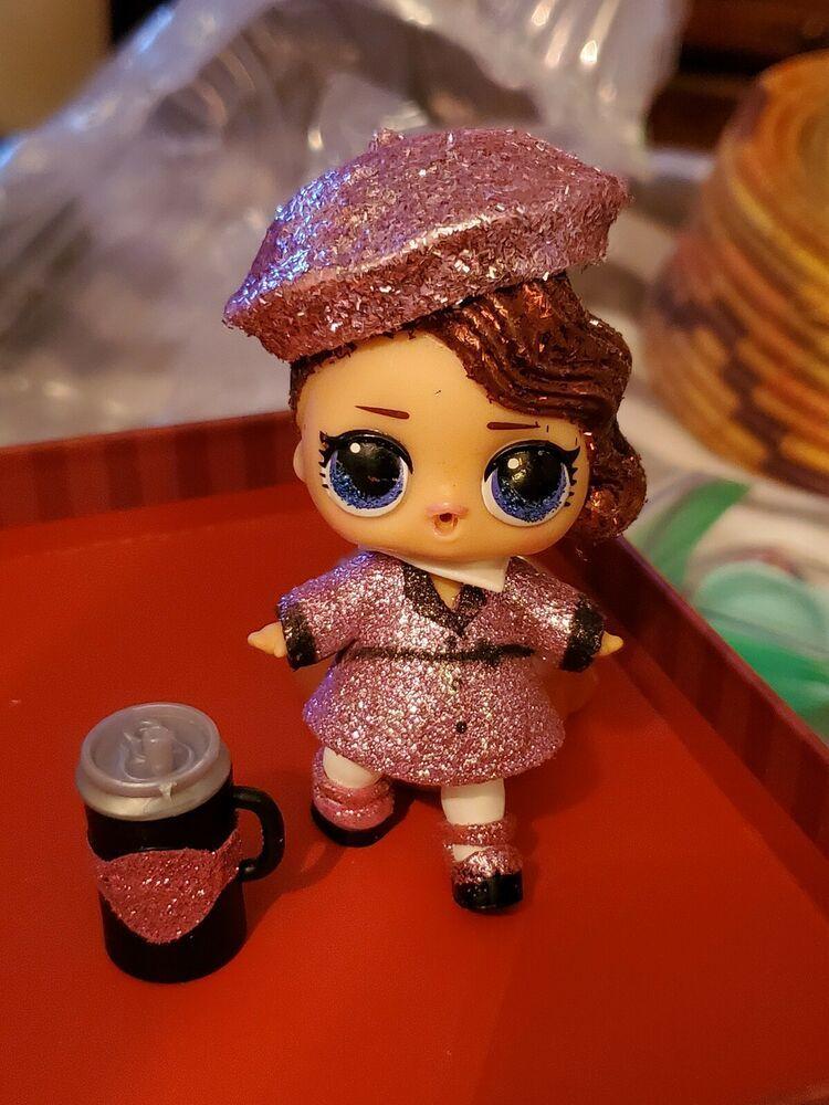 LOL Surprise Dolls Series 2 Wave 1 DJ~NAPPING D.J Ball sd Doll~ Original L.O.L