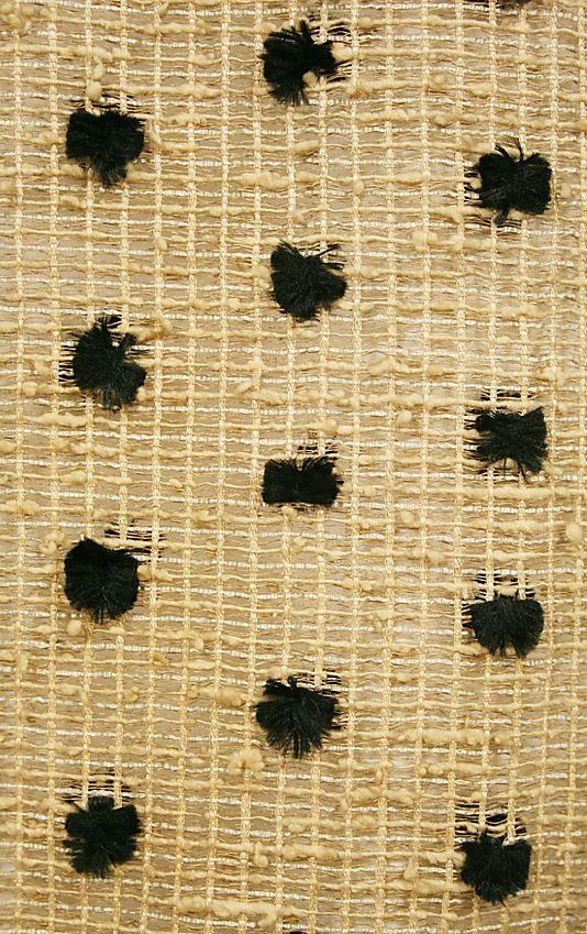 Dress1880–83 Culture: American Medium: cotton, silk