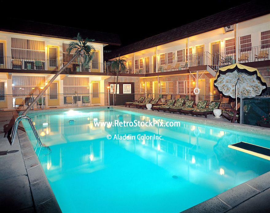 Packard Motel In Wildwood Nj North 1960 S Pool