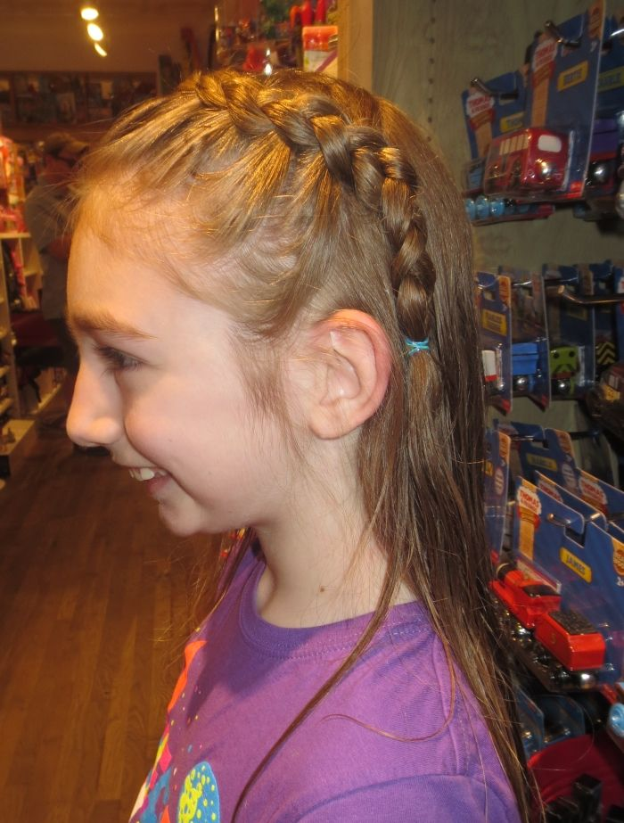 Braid And Haircut By Stylist Rosie Lulus Cuts And Toys Toy