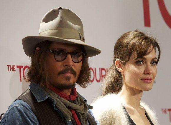 Angelina Jolie Y Johnny Deep Jpg 580 425 Johnny Deep Johnny Johnny Depp