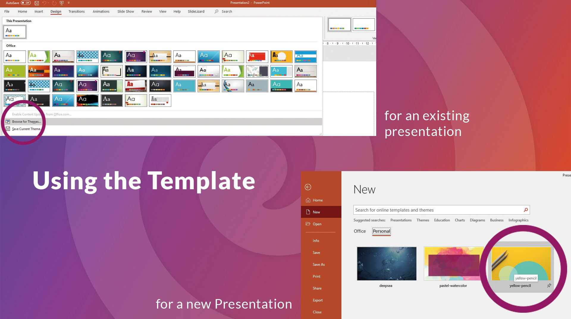 The Extraordinary How To Create Your Own Powerpoint Template 2020 Slidelizard For How To Save In 2020 Powerpoint Templates Business Plan Template Business Template