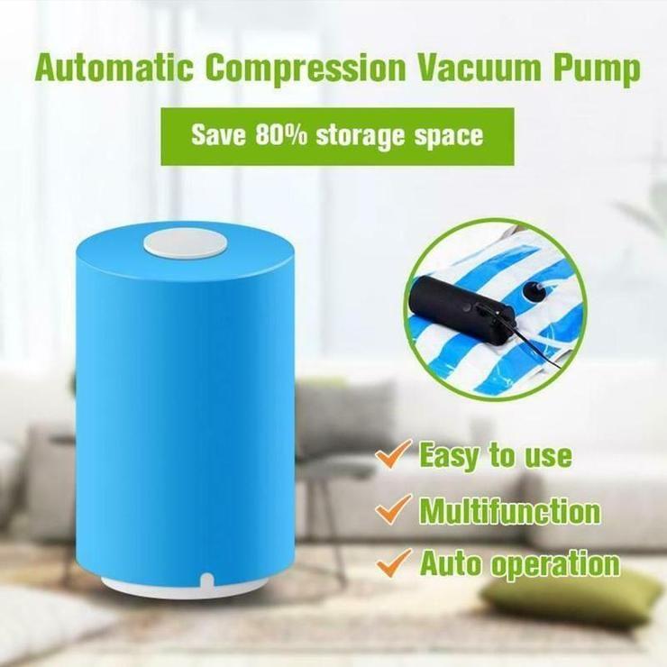 Mini Automatic Compression Vacuum Mini Automatic Vacuum Pump Vacuum Sealer