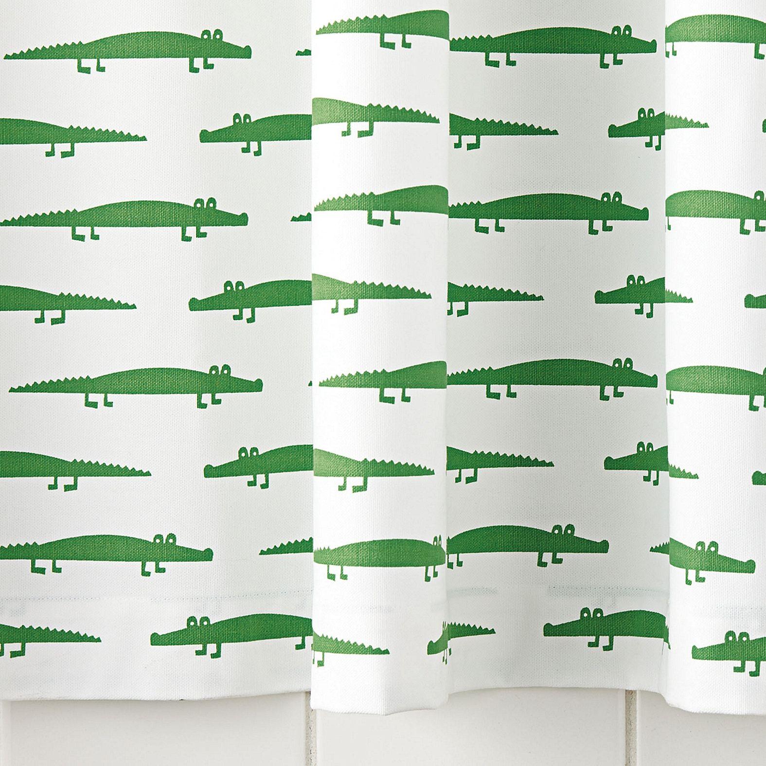 Alligator Shower Curtain Serena Amp Lily Unique Shower