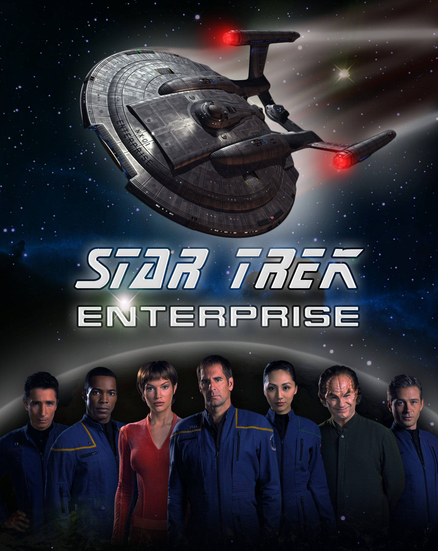 Image result for star trek serie enterprise poster
