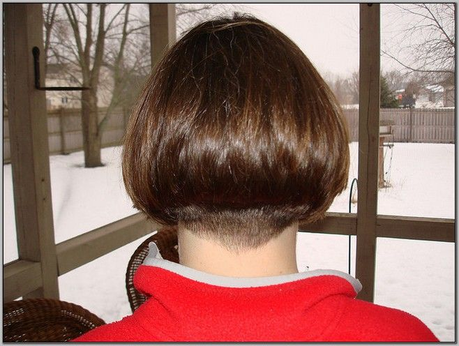 Wedge Haircut Pictures Back View
