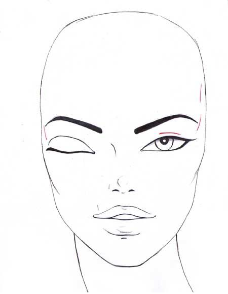 How To Draw Eyes Step By Step Fashion Illustrations