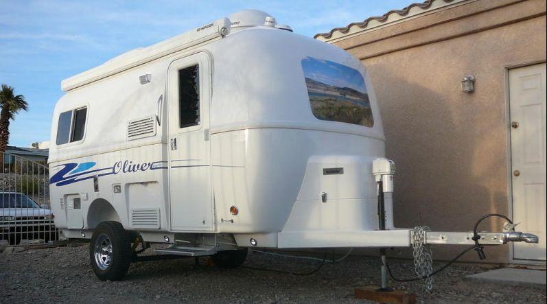 17 Oliver Travel Trailer For Sale Technomadia Solar Powered