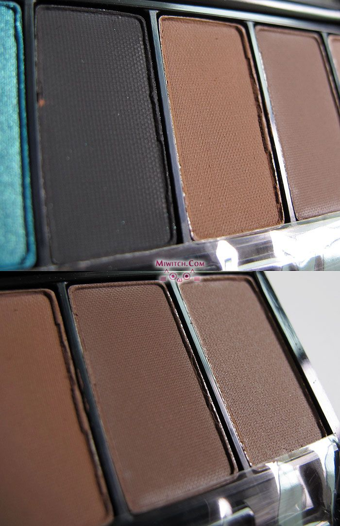 miwitch {+} Swatches Make Up For Ever Blue Sepia Eye