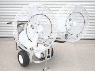 Double Fan Portable Misting System