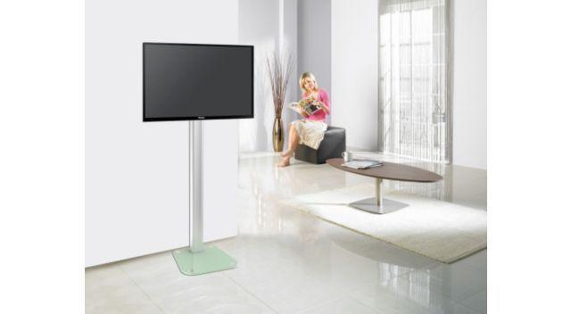 Essentielb Mouv Up 32 75 Blanc Support Tv Avec Images Pied
