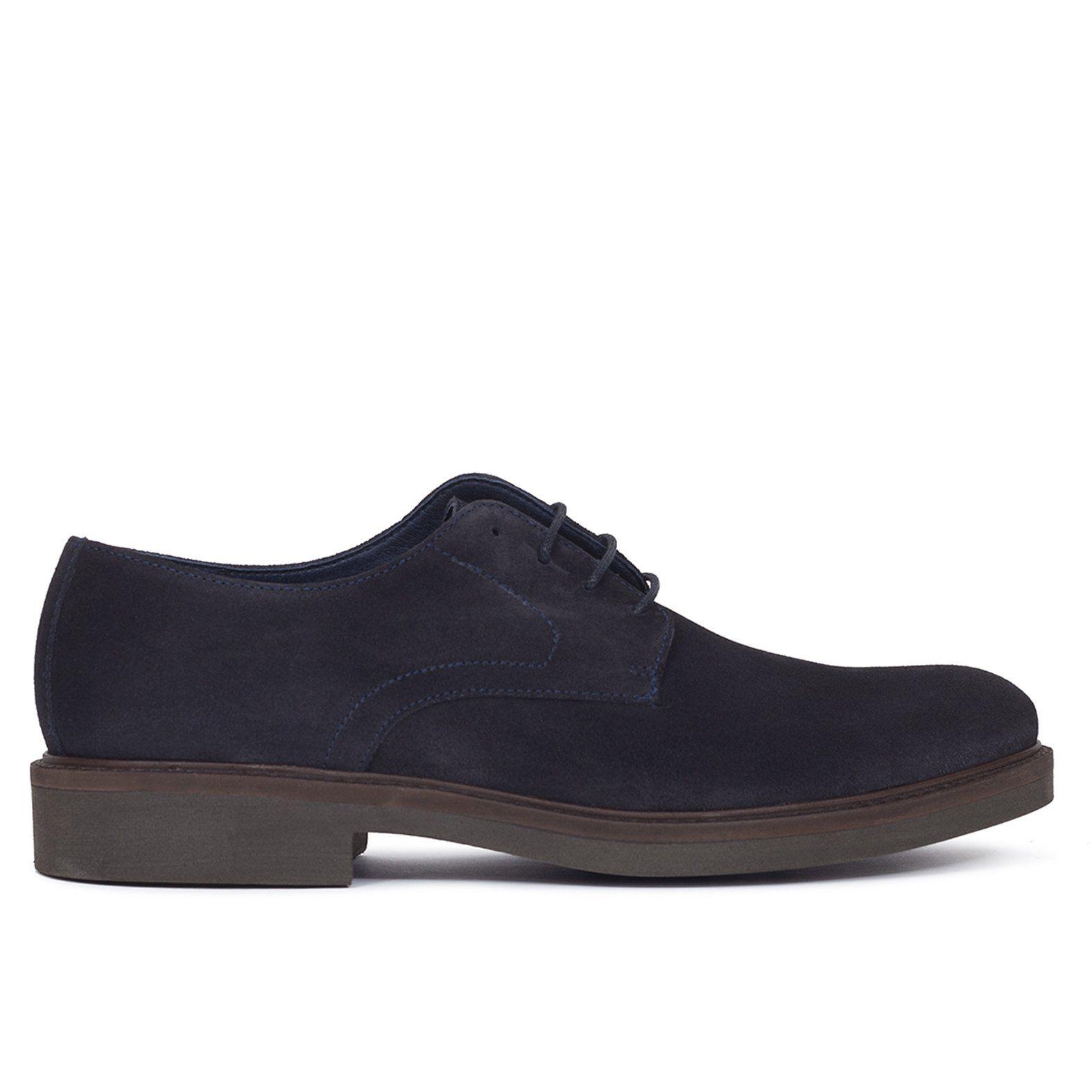 5da216add0b1e Zapato de hombre con ordones de piel MARINO - Zapatos online miMaO – miMaO  ShopOnline