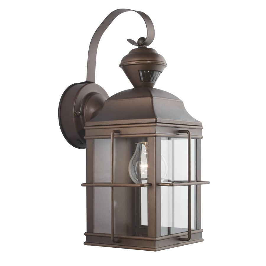 Commercial Lighting Manchester: Shop Secure Home New England Carriage 14.75-in H Antique