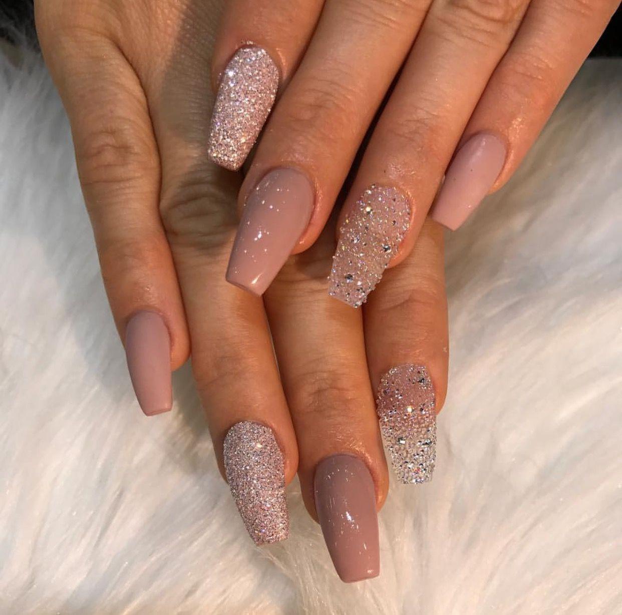 Pin by Yesi Tinoco on Nailz   Pinterest   Nail nail, Prom nails and ...