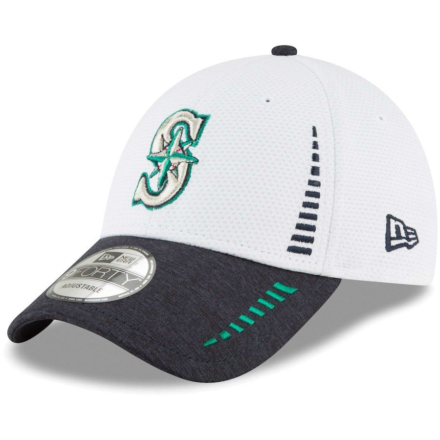 competitive price 841ed fdc64 Men s Seattle Mariners New Era White Speed Tech 9FORTY Adjustable Hat, Your  Price   23.99