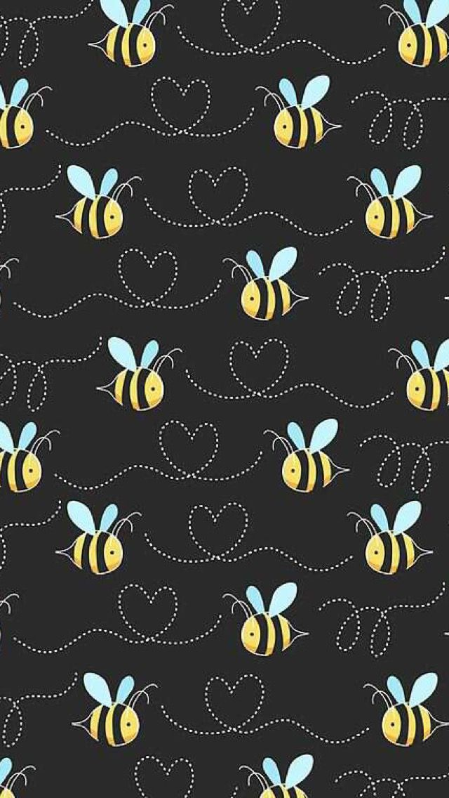 BUMBLE BEES Digital Phone Wallpaper ♥ Pinterest