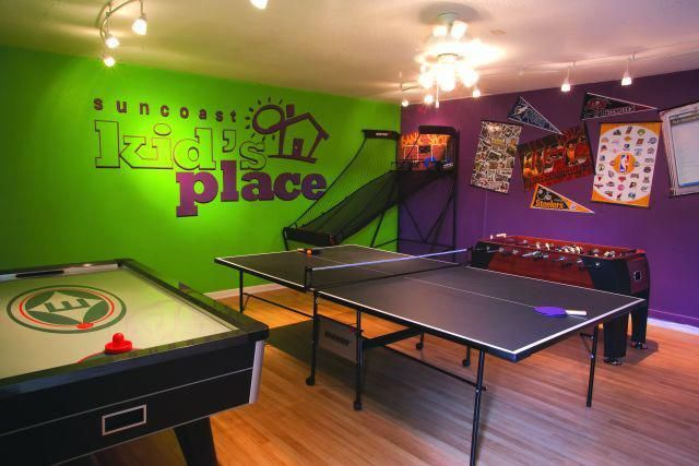 20 Epic Rec Room Ideas Decoration For Your Family Entertainment See More Ideas About Game Room Basement G Game Room Basement Garage Game Rooms Game Room Kids