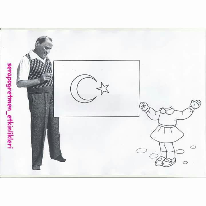 Elif Yavuz Adlı Kullanıcının Atatürk Panosundaki Pin Crafts For