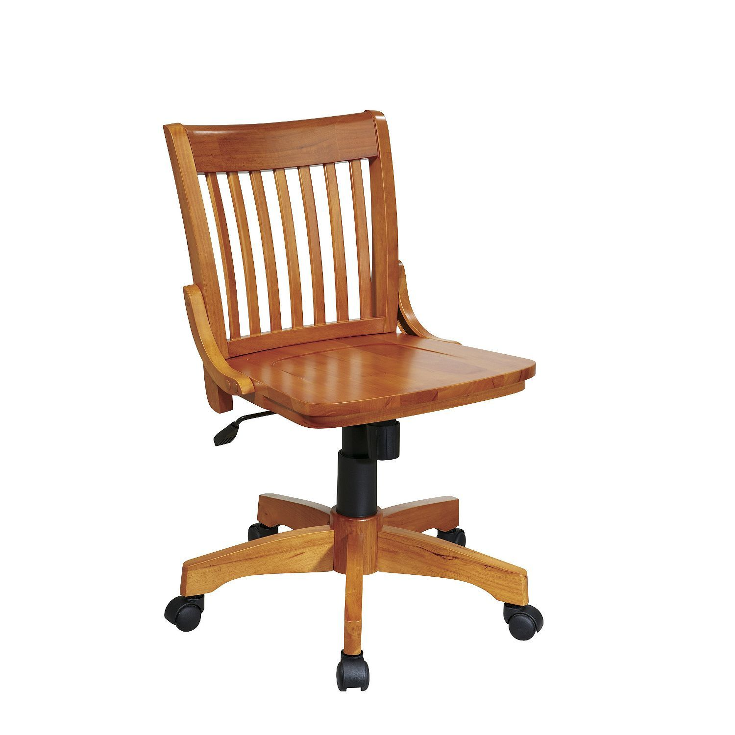 Armless bankers chair bankers chair wooden office